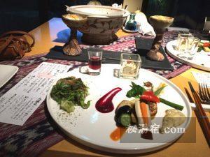 沓掛温泉 満山荘 夕食47